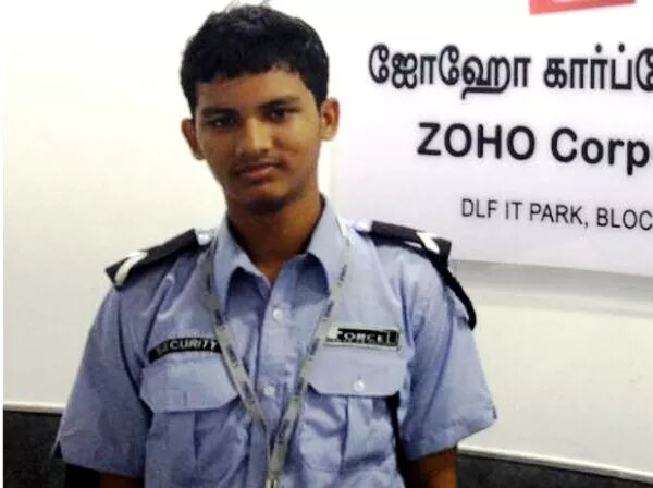 a inspiratinal story from security guard to tech officer in a same company