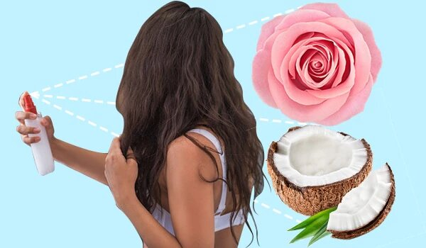 these rose water hair pack will make your hair beautiful and glossy