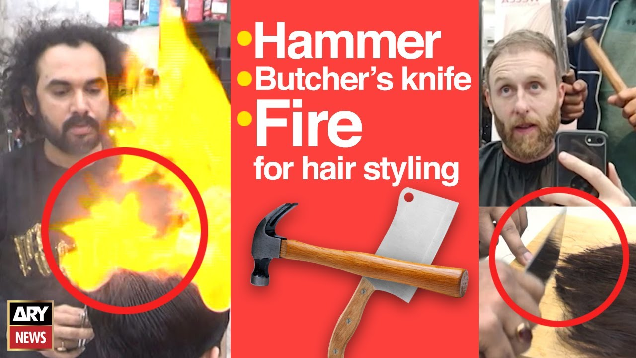 pakistani barber who cut hair with hammer went viral